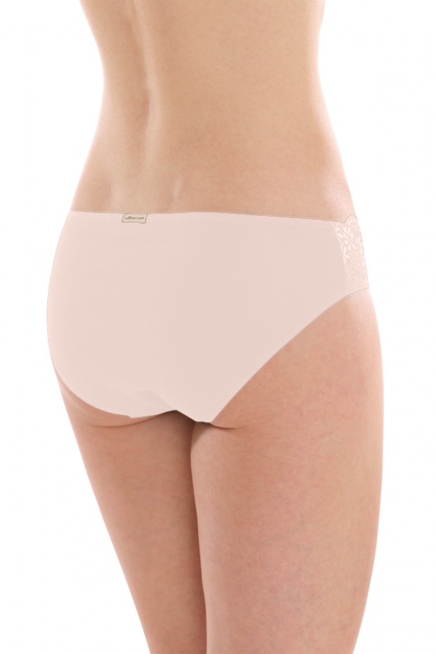 7149dc38ceb Comazo Earth Dámské krajkové kalhotky jazz-panty z biobavlny - pleťová. 4  obrázky v galerii
