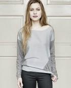 tričko Ina ve variantě platinová
