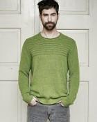 svetr Jonas v zelené barvě