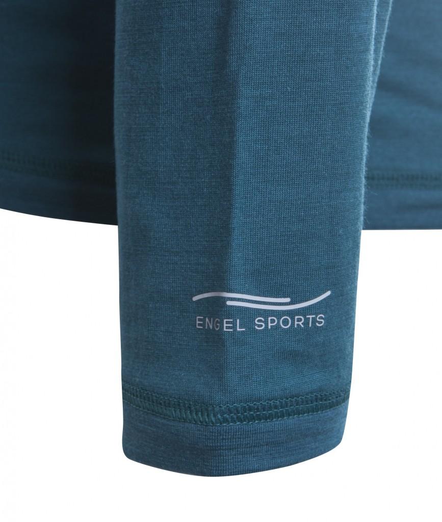 8570029524 Pánské sportovní tričko s dl. rukávy z bio merino vlny a hedvábí ...