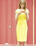 šaty jessy v barvě citrus
