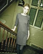šaty ANDREA v barvě black/white