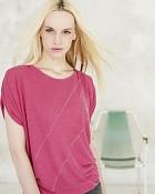 top Leila v růžové barvě