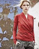top Scarlett v červené barvě
