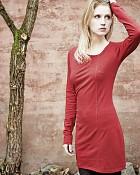 šaty DIANA v barvě šípková