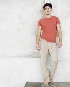 kalhoty Metro v pískové barvě