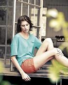 šortky JANE v lososové barvě