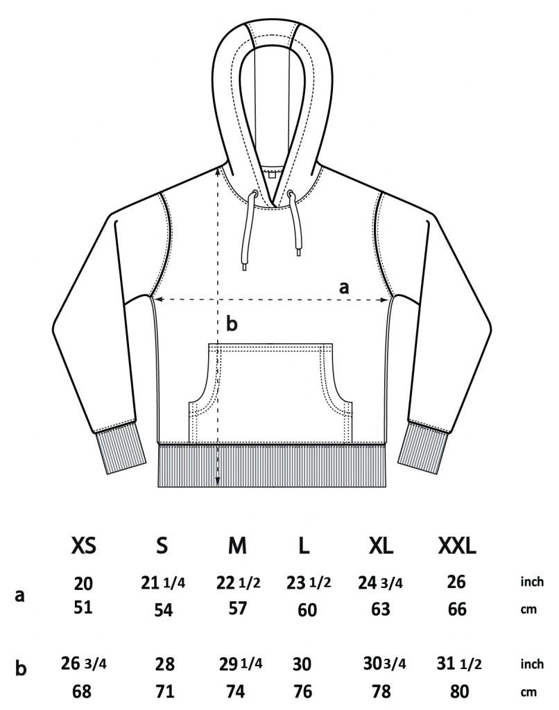 d98474a259f EP pánská unisex mikina klokankou a kapucí ze 100% biobavlny - bílá melange.  3 obrázky v galerii