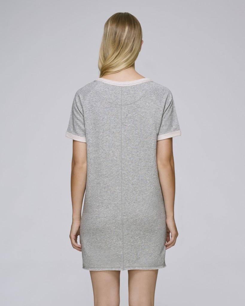 Stella TENDERS dámské šaty z biobavlny - šedá heather grey. 6 obrázků v  galerii df7641a37de