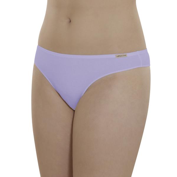 Comazo Earth Dámské kalhotky tanga z biobavlny - levandulová 30denni  garance vraceni zbozi logo - fair trade oblečení z biobavlny 2420834209