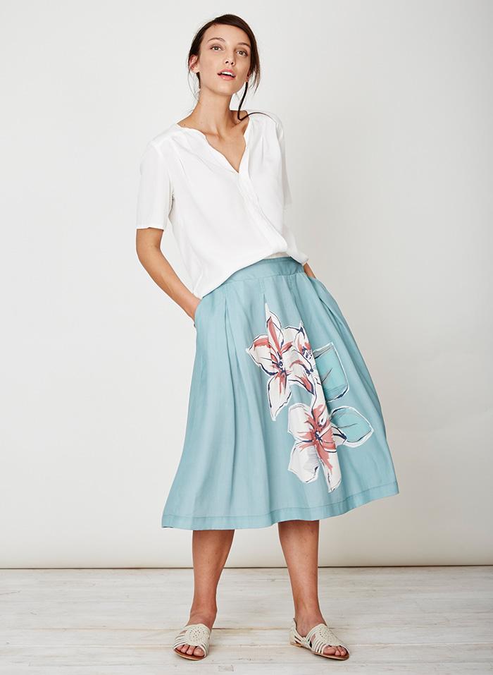 790eb4d30e6 AUSTIN dámská košile ze 100% tencelu - bílá cloud 30denni garance ...