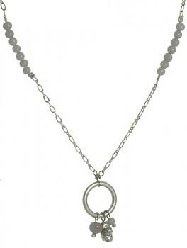 FLOW náhrdelník šedý