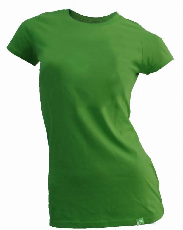 7d14ceae65 Dámské bambusové tričko zelené 30denni garance vraceni zbozi logo ...