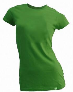 Dámské bambusové tričko zelené