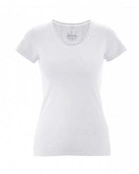 SUNNY Dámské tričko z biobavlny a konopí - bílá