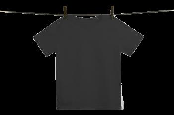 Dětské tričko z 100% biobavlny - černá
