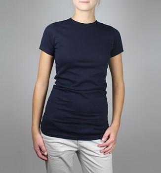 Dámské tričko z 100% biobavlny - navy