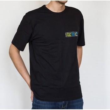 MÁME NA VÝBĚR pánské černé tričko