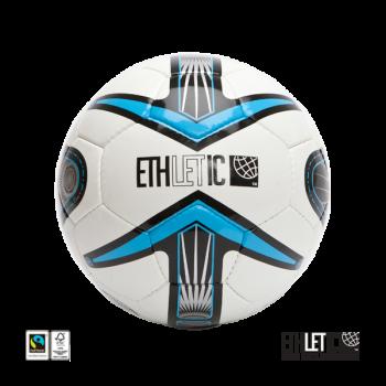 Fairtrade fotbalový míč - modrá