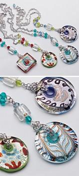 DONUT náhrdelník - různé barvy
