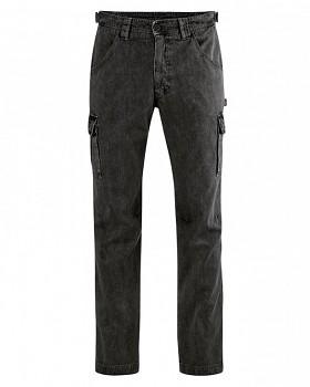CARGO pánské kalhoty z konopí a biobavlny - černá