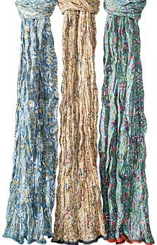 SUMMER dámská letní květovaná šála - různé barvy