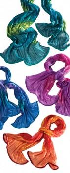 BOLD letní batikovaná šála - různé barvy