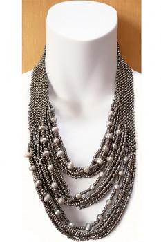 TIBOLI PEARL korálkový náhrdelník