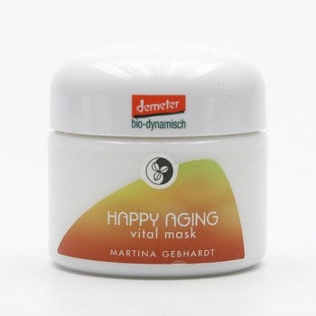 Bio pleťová maska Happy Aging Martina Gebhardt - 50 ml