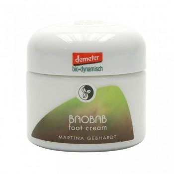 Bio krém na nohy Baobab Martina Gebhardt - 50 ml