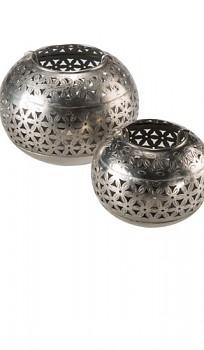 THAR kovový svícen na čajové svíčky