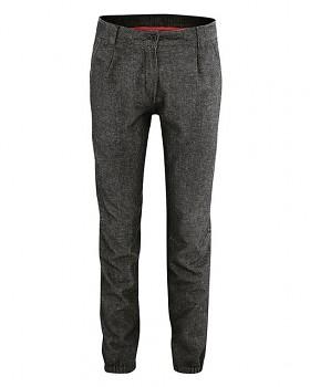 HEIKE dámské kalhoty z biobavlny a konopí - černá