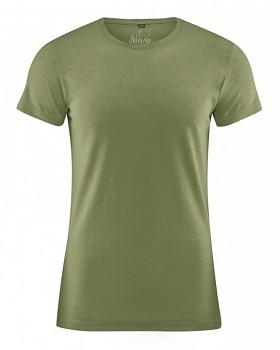 OTTO pánské tričko z biobavlny a konopí - zelená laurel