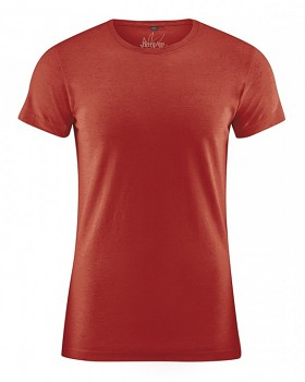 OTTO pánské tričko z biobavlny a konopí - červená šípková