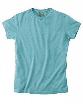 OTTO pánské tričko z biobavlny a konopí - tyrkysová