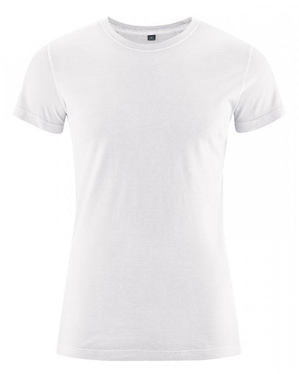 88f620fa00 BRISCO pánské tričko z biobavlny a konopí - bílá 30denni garance ...