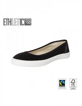 Ethletic Fair Dancer Classic balerinky - černá jet black