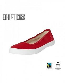Ethletic Fair Dancer Classic balerinky - červená brusinková