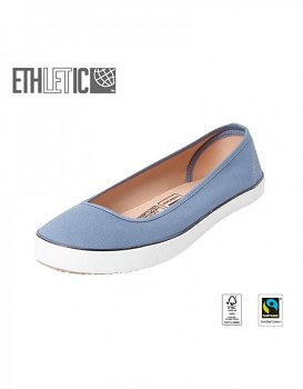 Ethletic Fair Dancer Collection balerinky - modrá pale denim