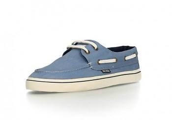 Fair Loafer Collection jachtařské tenisky - modrá pale denim