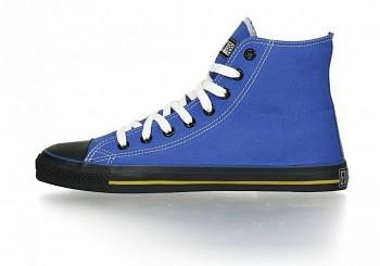 Fair Trainer Collection Black cap hi cut kotníkové tenisky - modrá glow/černá jet