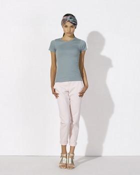 STELLA RECALLS dámské tričko s krátkými rukávy z 100% biobavlny - šedomodrá citadel
