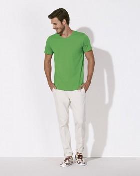 STANLEY LEADS Pánské tričko s krátkým rukávem ze 100% biobavlny - zelená