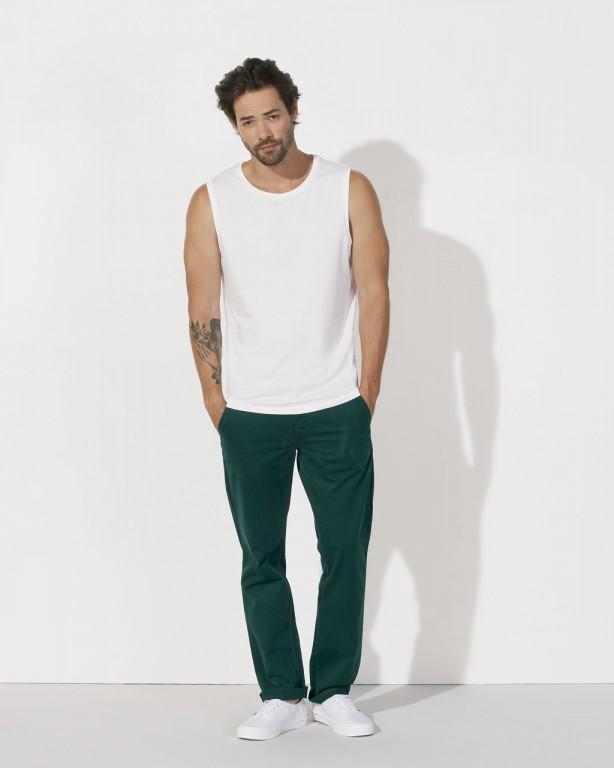 STANLEY SURFS Pánské tričko bez rukávů ze 100% biobavlny - bílá ... 5fe4654d17