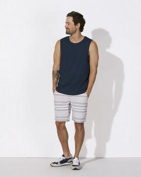 STANLEY SURFS Pánské tričko bez rukávů ze 100% biobavlny - tmavě modrá navy