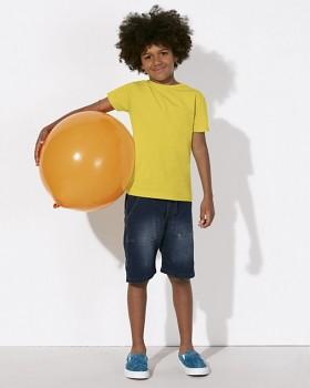 MINI STANLEY PAINTS Chlapecké tričko s krátkými rukávy ze 100% biobavlny - žlutá maize