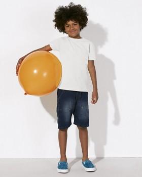 MINI STANLEY PAINTS Chlapecké tričko s krátkými rukávy ze 100% biobavlny - bílá