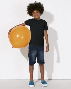 MINI STANLEY PAINTS Chlapecké tričko s krátkými rukávy ze 100% biobavlny - černá