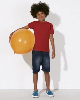 MINI STANLEY PAINTS Chlapecké tričko s krátkými rukávy ze 100% biobavlny - červená