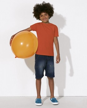MINI STANLEY PAINTS Chlapecké tričko s krátkými rukávy ze 100% biobavlny - oranžová
